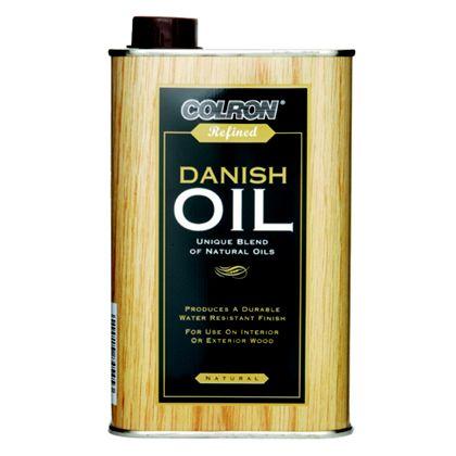 Colron Danish Oil Natural 500 Ml Zener Diy Online