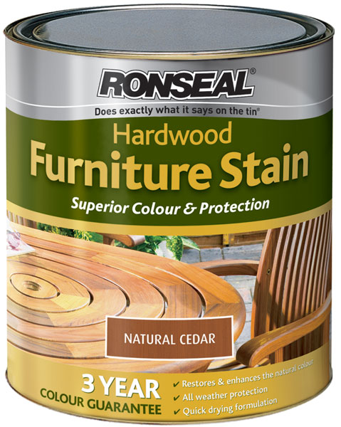 ronseal hardwood furniture stain