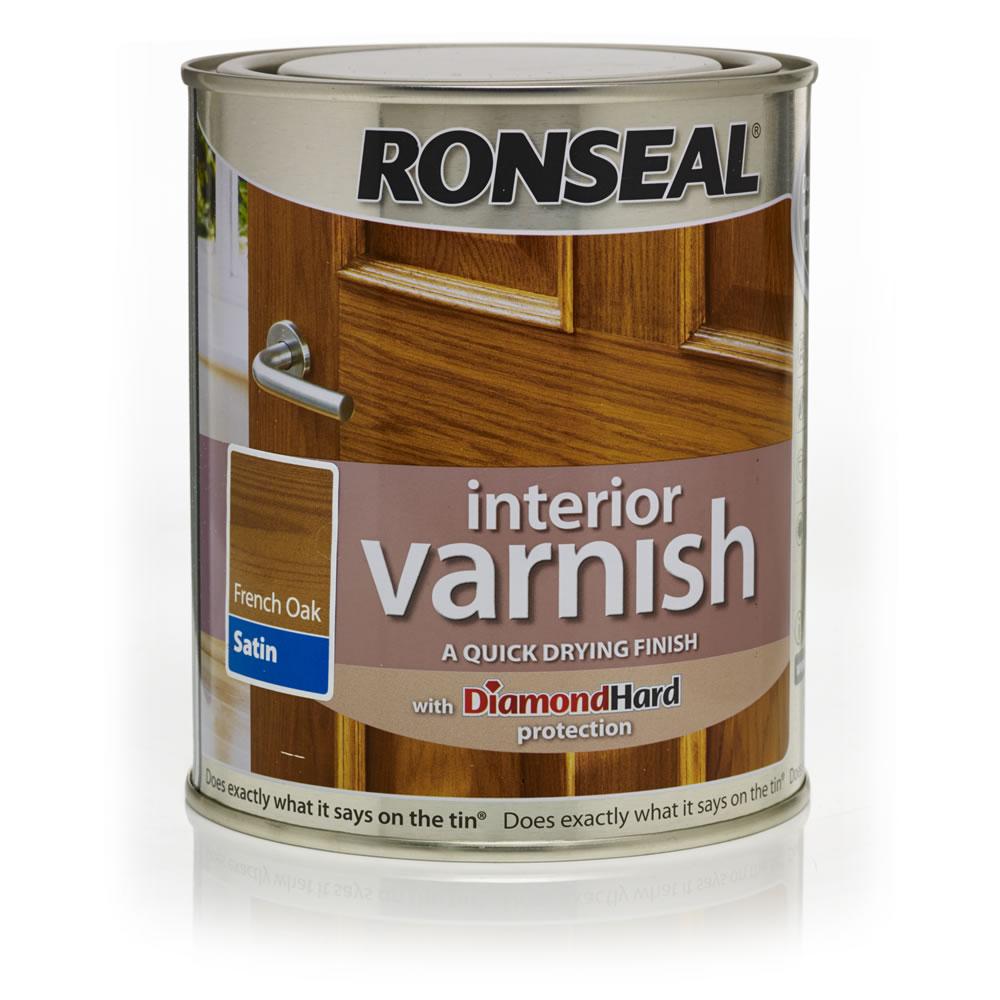 Hard Water Areas >> Ronseal Interior Varnish